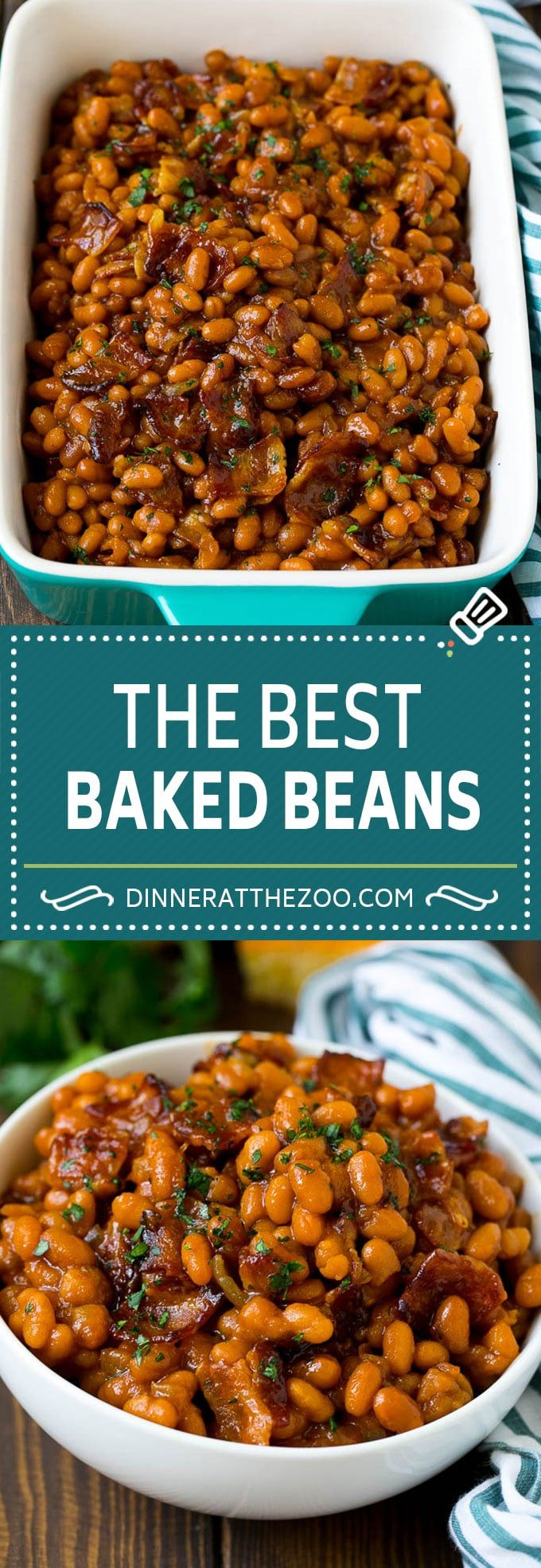 Baked Beans with Bacon Baked Beans Recipe