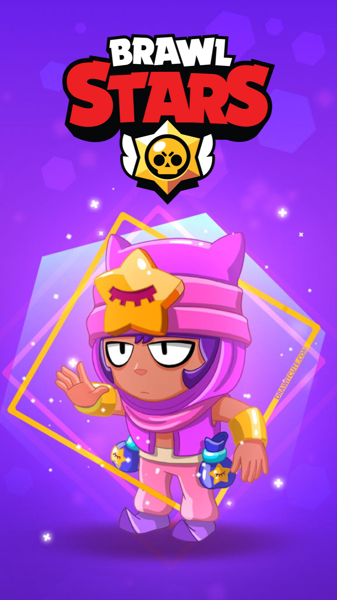 New Brawler Sandy Brawl Stars Free Brawl Stars Gems 2020 How To Get Brawl Stars Hack Free Gems Generator No Human Verification To In 2020 Brawl Star Wallpaper Stars