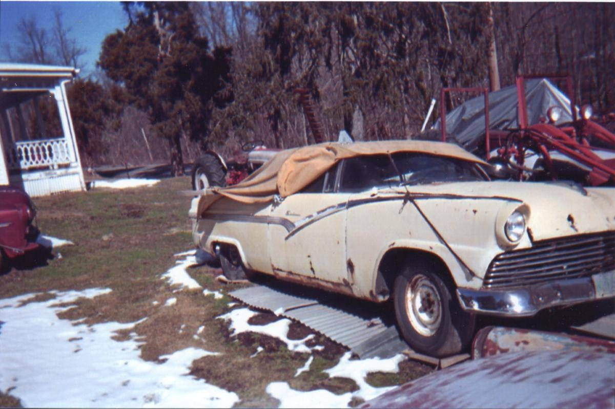 1956 Ford Fairlane Sunliner Deluxe With Images Ford Fairlane