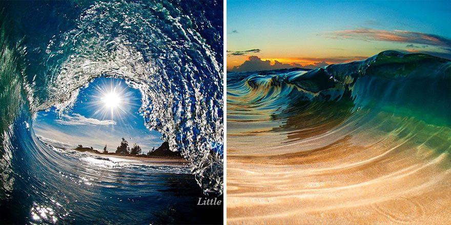 es superbes photos de sous la vague de clark little 19   Les splendides photos sous la vague de Clark Little   vague tube sous marin rouleau...