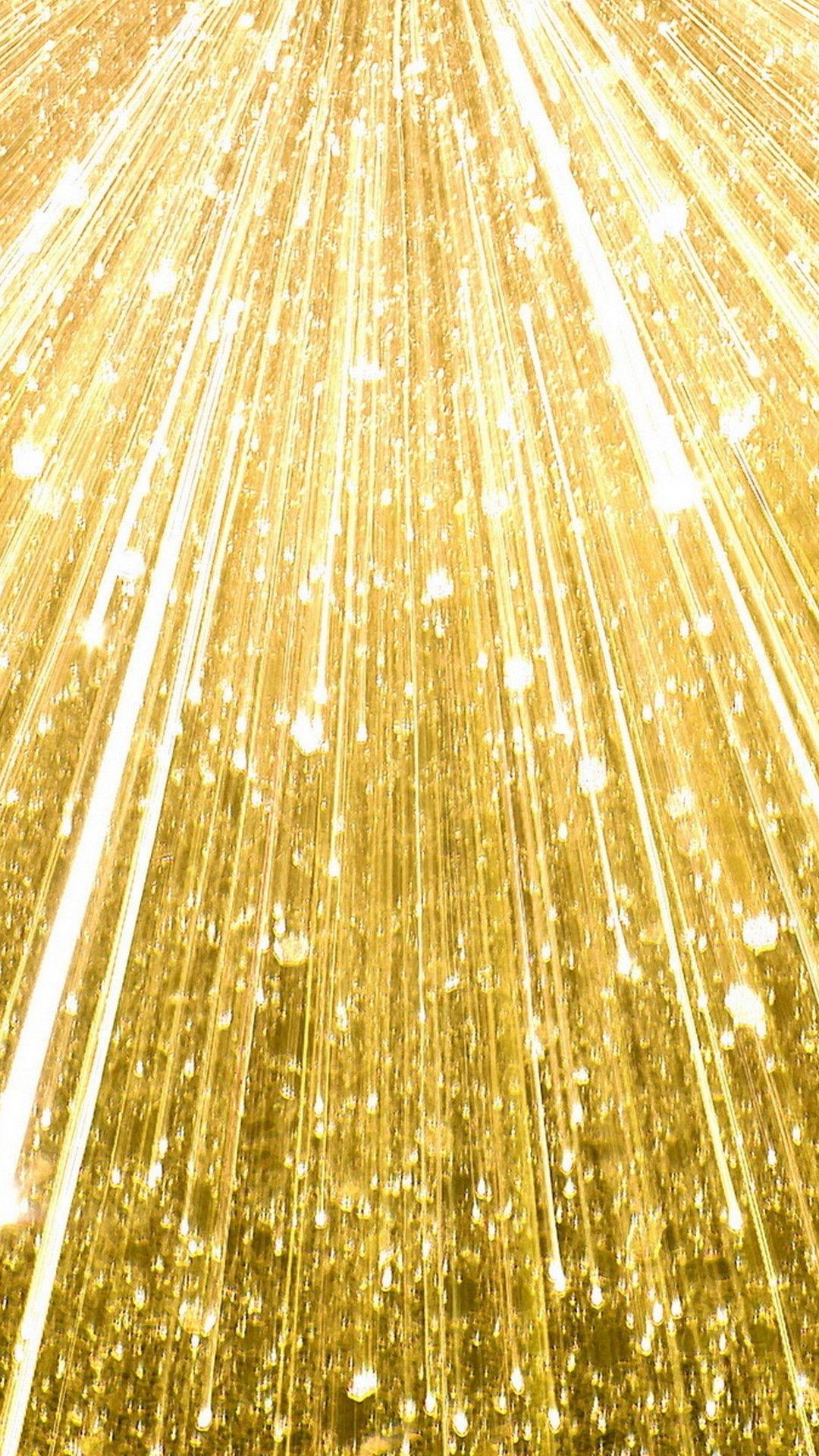 Wallpaper Gold Sparkle iPhone Maľby, Fantázia, Animácia