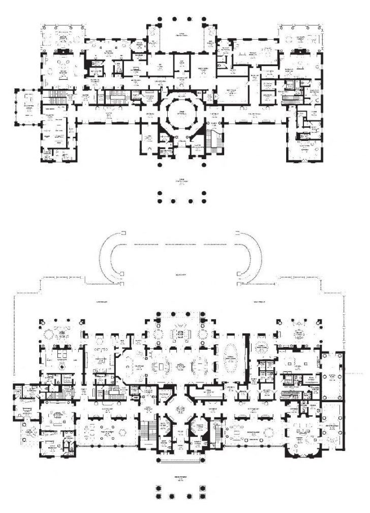 Spelling Manor Floor Plan House Sensational Mexicocity 2 Plans Of Mansions Mansion Modernday Gallery So 728