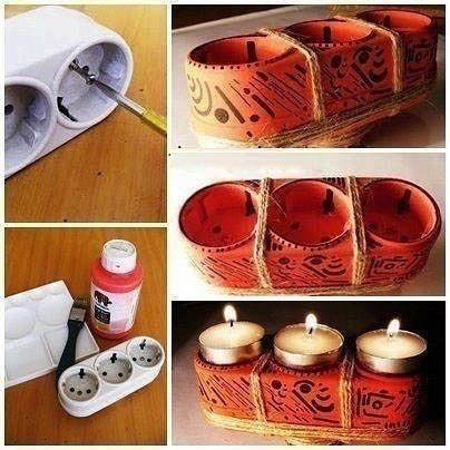 candle holder of the socket
