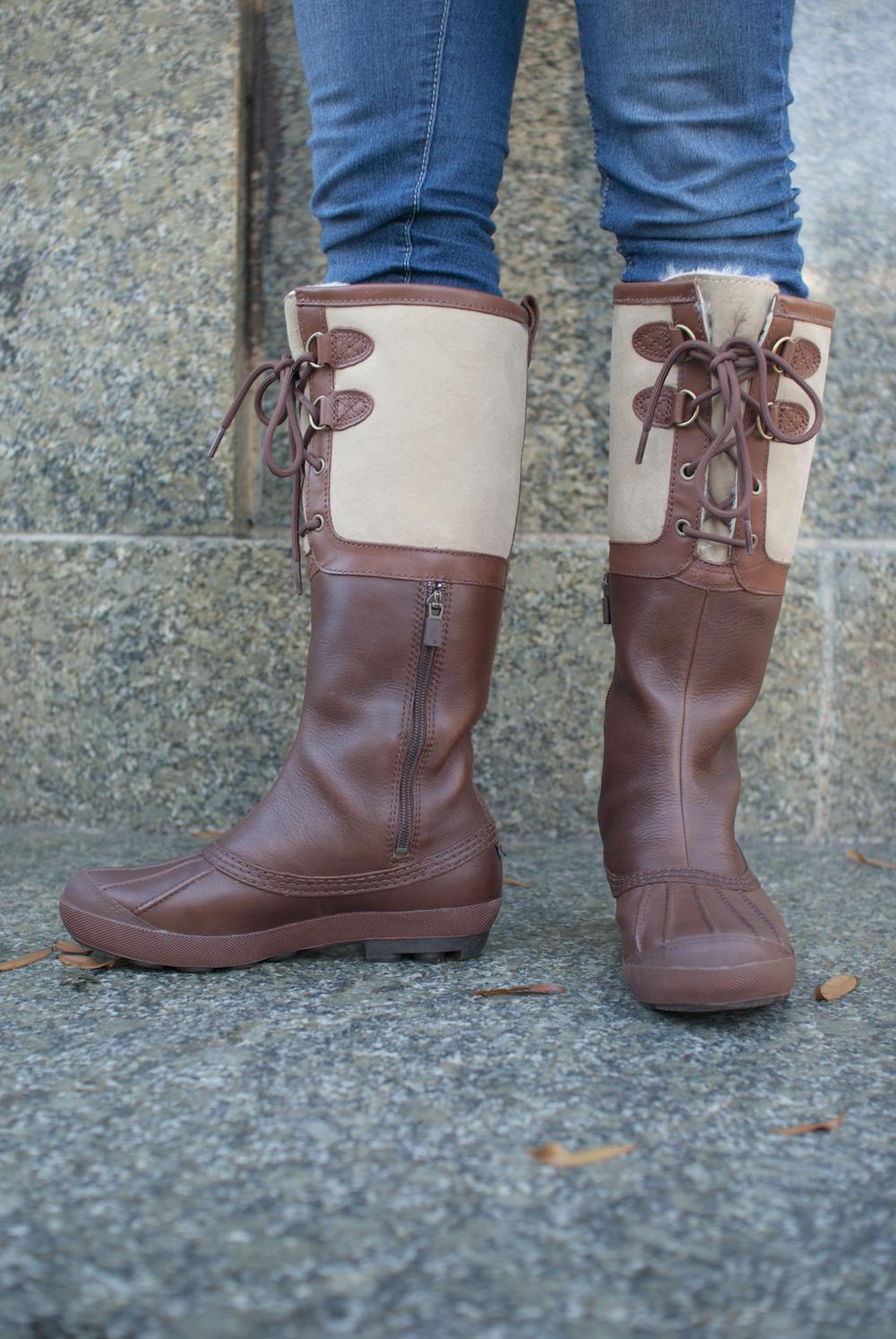 ugg australia 39 s waterproof leather duck boot for women. Black Bedroom Furniture Sets. Home Design Ideas
