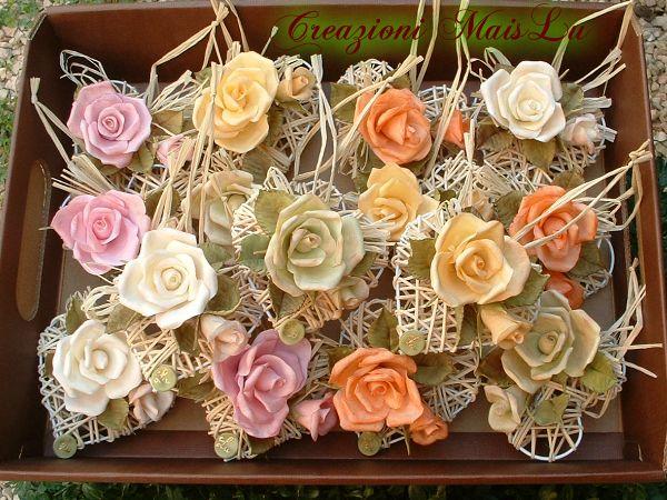 Cuori con rose  TRES, TRES, TRES JOLI TRAVAIL... BRAVO!!