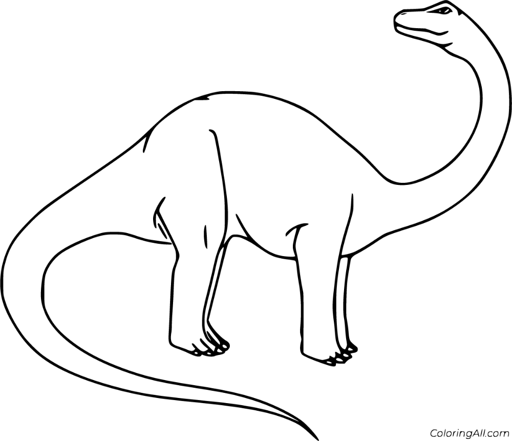 18 Free Printable Brontosaurus Coloring Pages In Vector Format Easy To Print From Any Device And Automatic Dinosaur Coloring Pages Coloring Pages Brontosaurus
