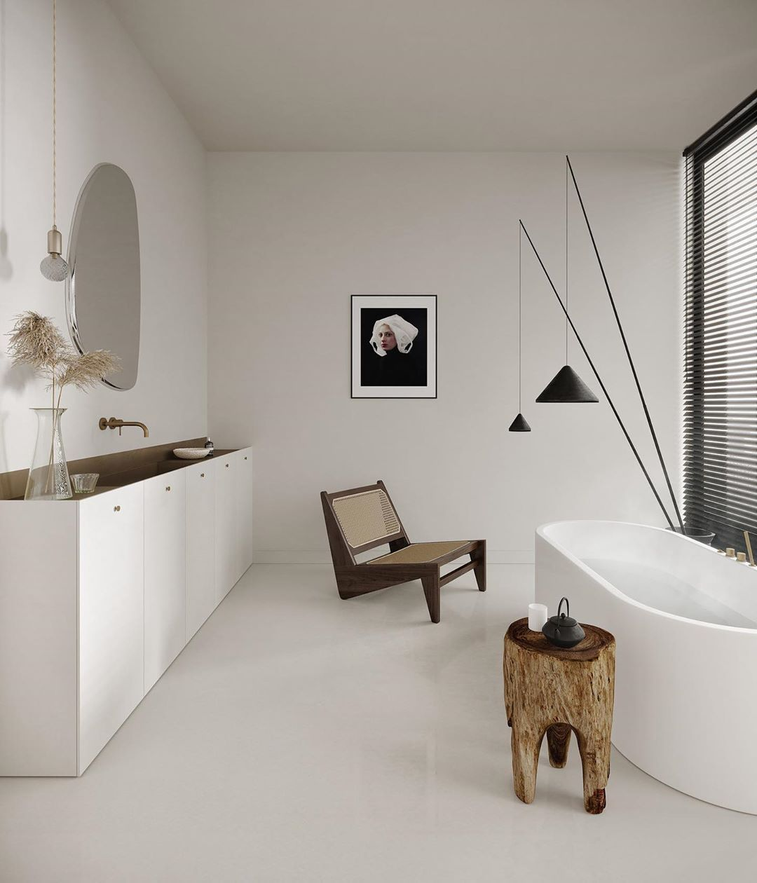 Zen Bathroomdesign Ideas: M O D U Studio On Instagram: Minimalist Bathroom Design