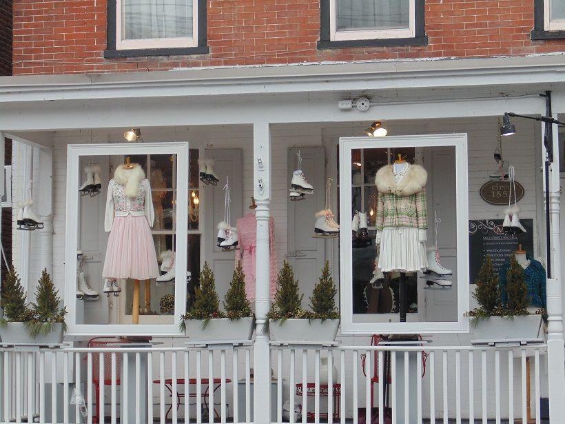 Mill Crest Vintage Bridal Shop...cutest place in town!  Lambertville NJ.....photo by Nancy Virgil