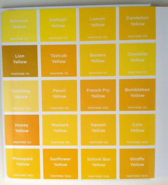 Yellow Poems