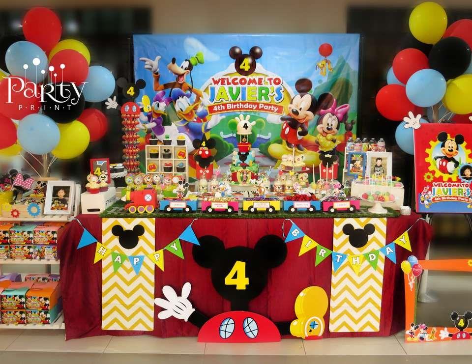 Tavolo Compleanno Topolino : Set completi per le feste a tema topolino acquisti online su ebay