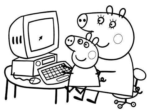 Раскраска для детей - YouTube | Книжка-раскраска ...