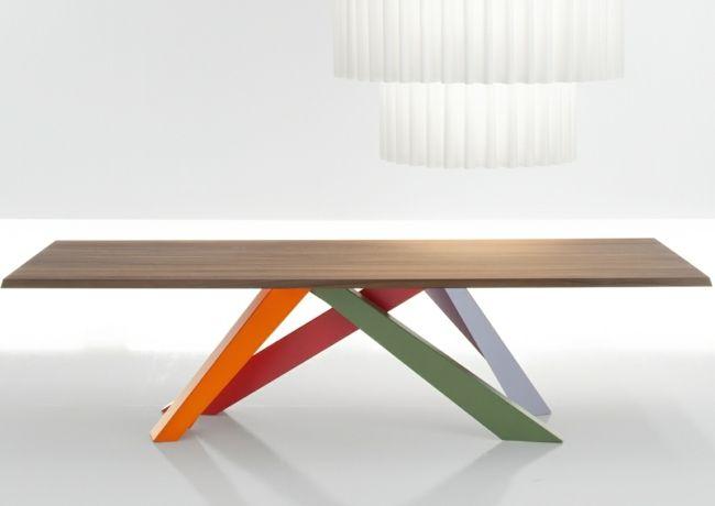 Esstisch Modern Bunte Beine Italienische Designer
