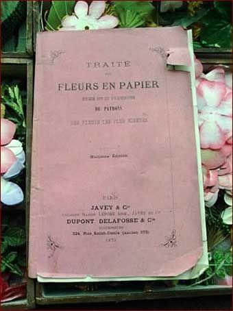 Paper flower making book victorian ladies crafts and needlework paper flower making book mightylinksfo