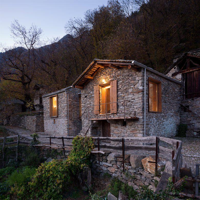 Mountain Stone House