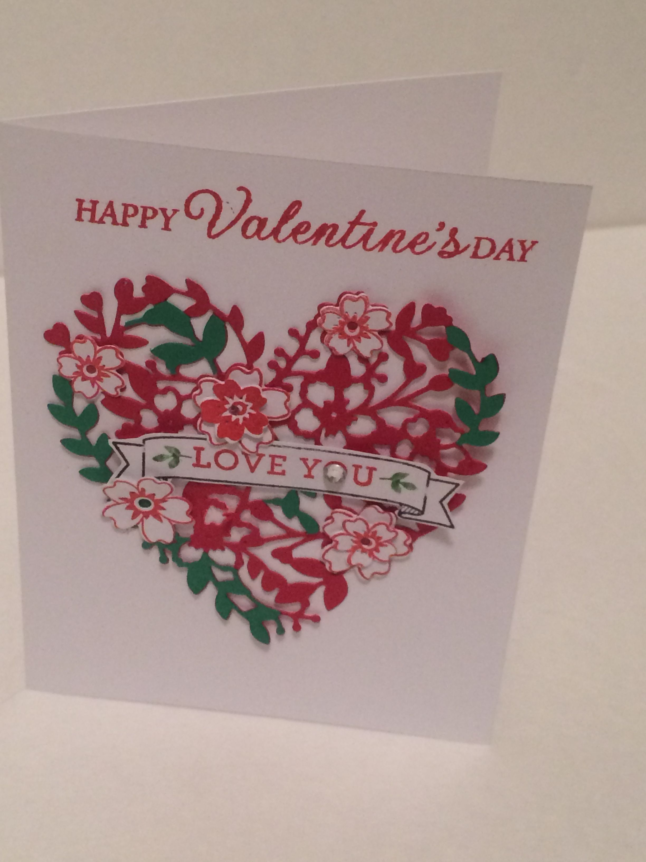 Stampin Up Bloomin Heart made by Teresa Major