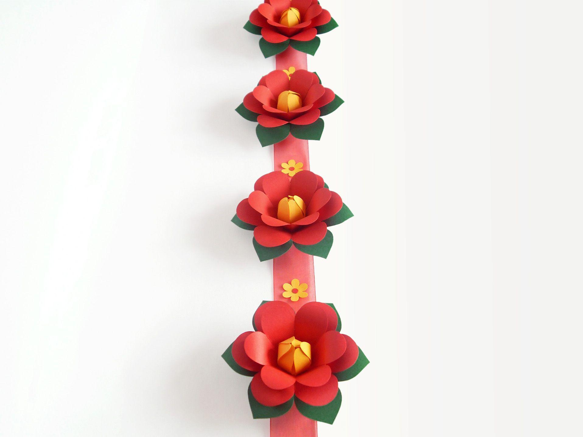 Pin von Innas Basteleien auf Papierblumen basteln