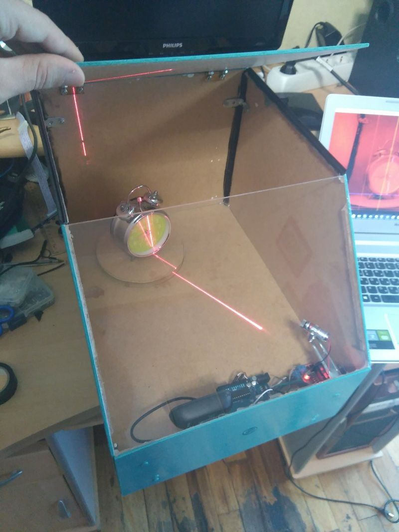 Make Your Own 3d Scanner With Arduino Uno Based On Fabscan Project Relay Module Using Use For Projects Diy