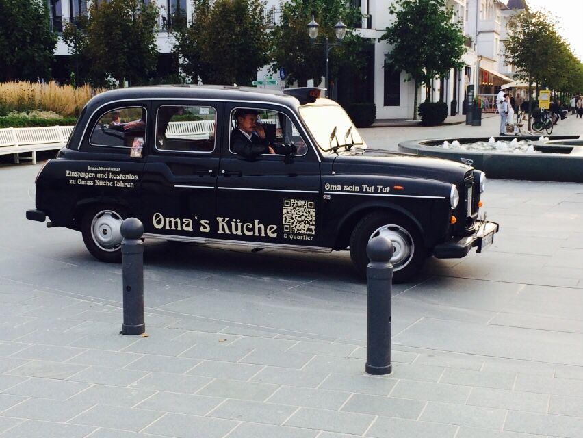 Kostenloses Taxi zu  - omas küche binz