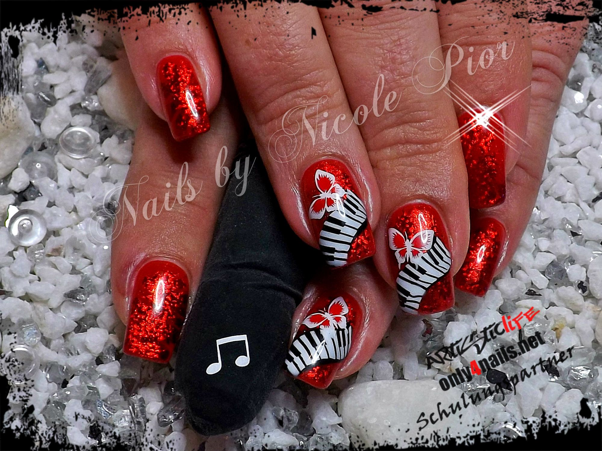 nail art by Nicole Pior from www.nageldesign-galerie.de | Nail Art ...
