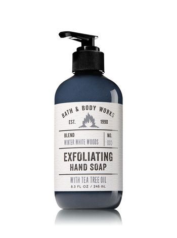 Winter White Woods Exfoliating Hand Soap Bath And Body