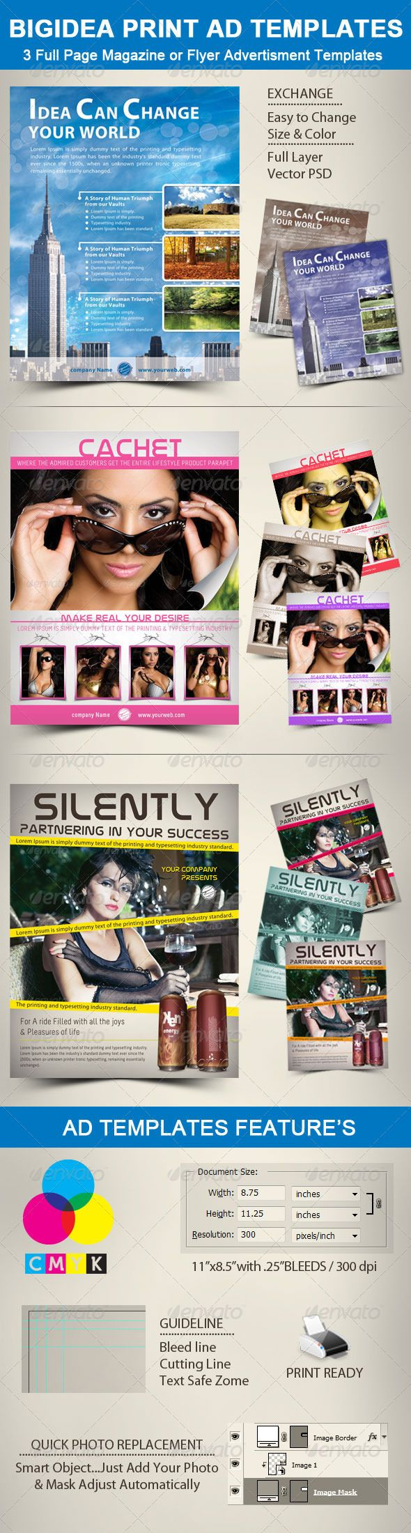 bigidea print ad templates photographs layer style and icons bigidea print ad templates graphicriver 3 print ad templates for full page magazine layouts