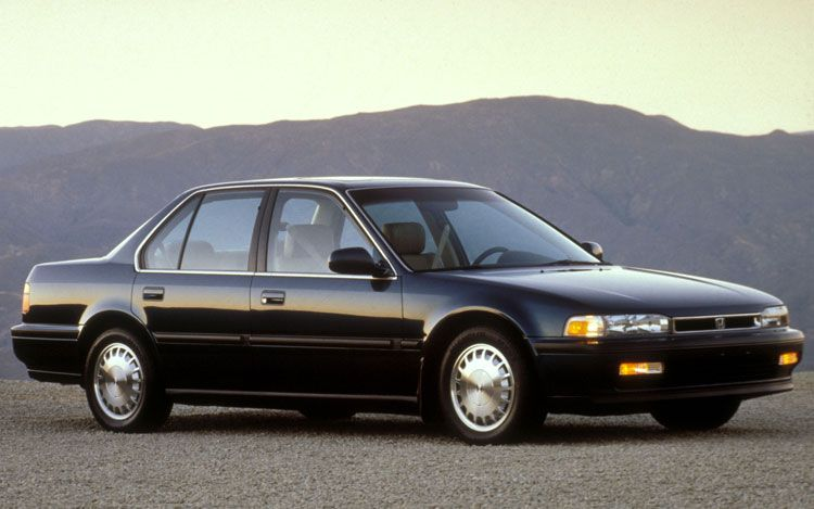 1991 Honda Accord EX Black with Tan interior Moon Roof Power