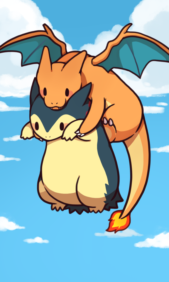 Omg Is Too Cute Chibi Typhlosion And Charizard Typhlosion