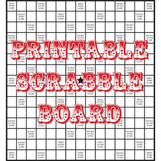 diy printable scrabble board