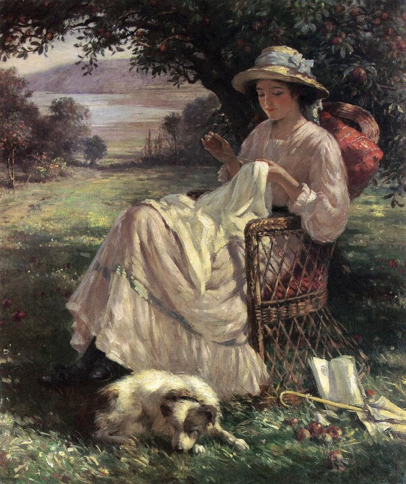 Sunlight And Shadow By Blacklock Category Paintings By William Kay Blacklock Wikimedia Commons Painting Oil