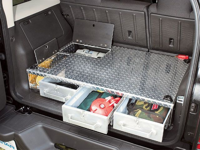 Off Road Amstar H3 Cargo Drawers Could Build One Out Of Wood And Add