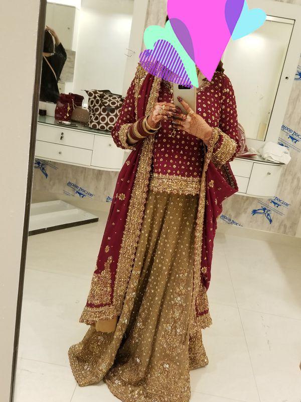 Pakistani Wedding Dress available for