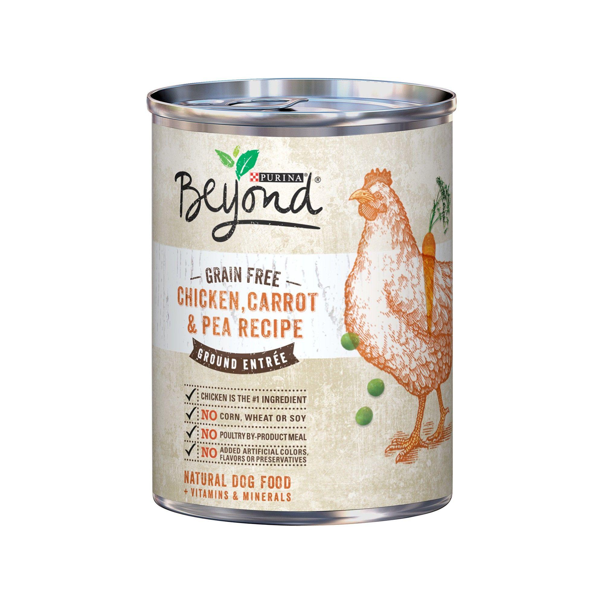 Beyond Grain Free Chicken Carrot Pea Wet Dog Food 13oz