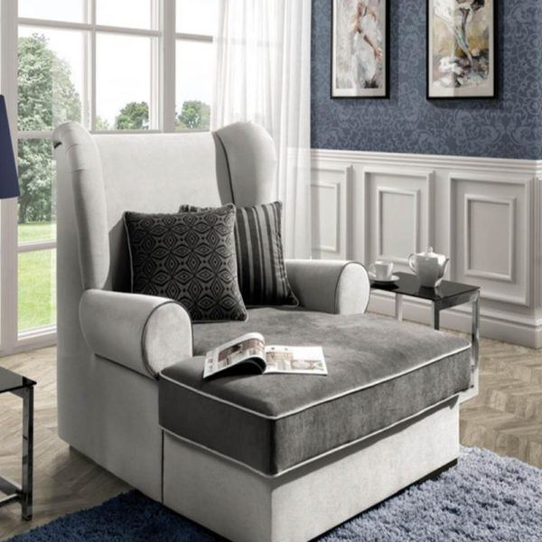 De Luxe Long Chair Sofas Beds Furniture Oslo Norway Sofa Bed