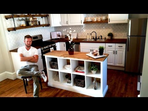 Never Would Have Thought This Ikea Bookshelf Could Be Hacked Into A Kitchen  Island!   Wise DIY | Wise DIY