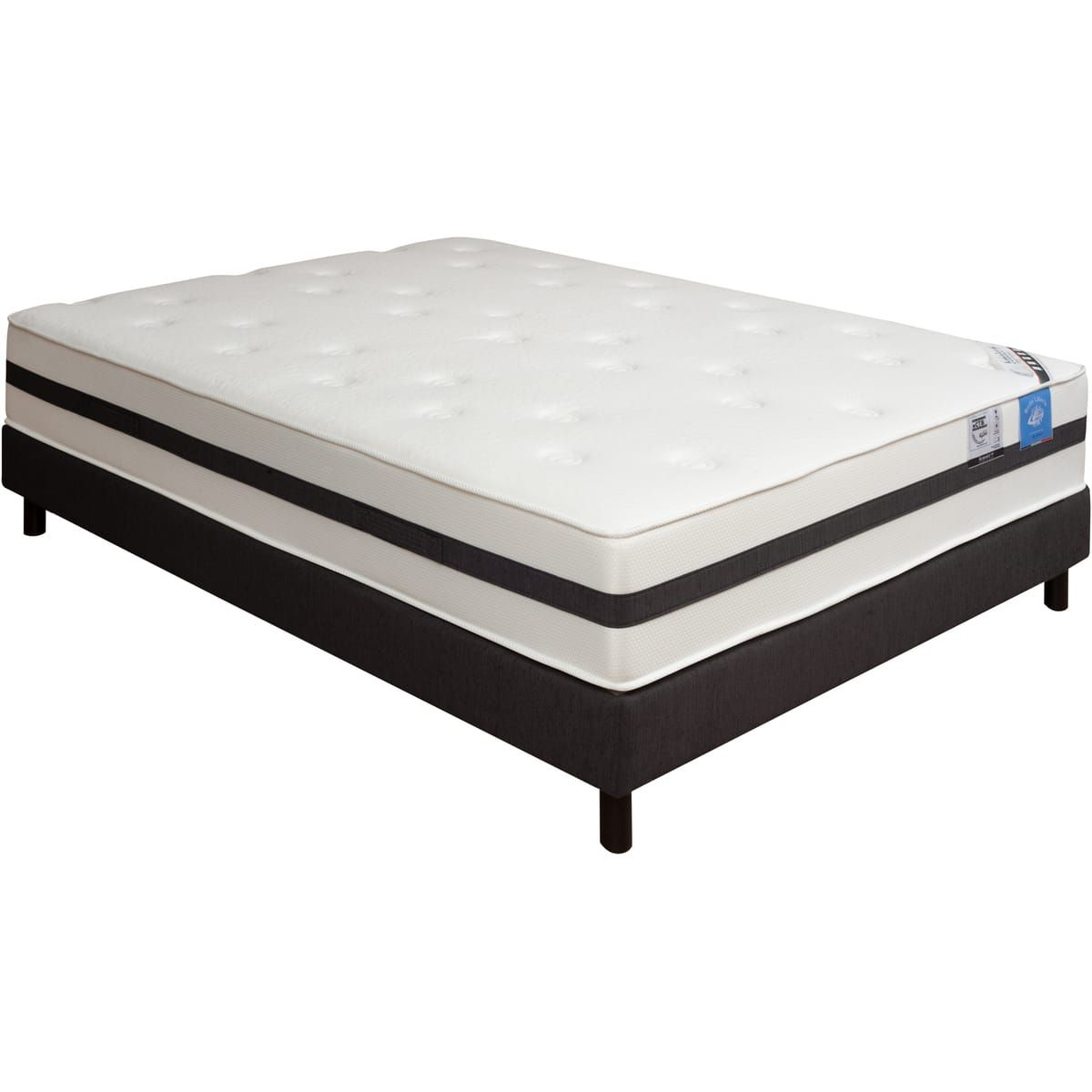 matelas mousse hr andalou 140x190cm belle literie benoist bons plans pas cher pinterest. Black Bedroom Furniture Sets. Home Design Ideas