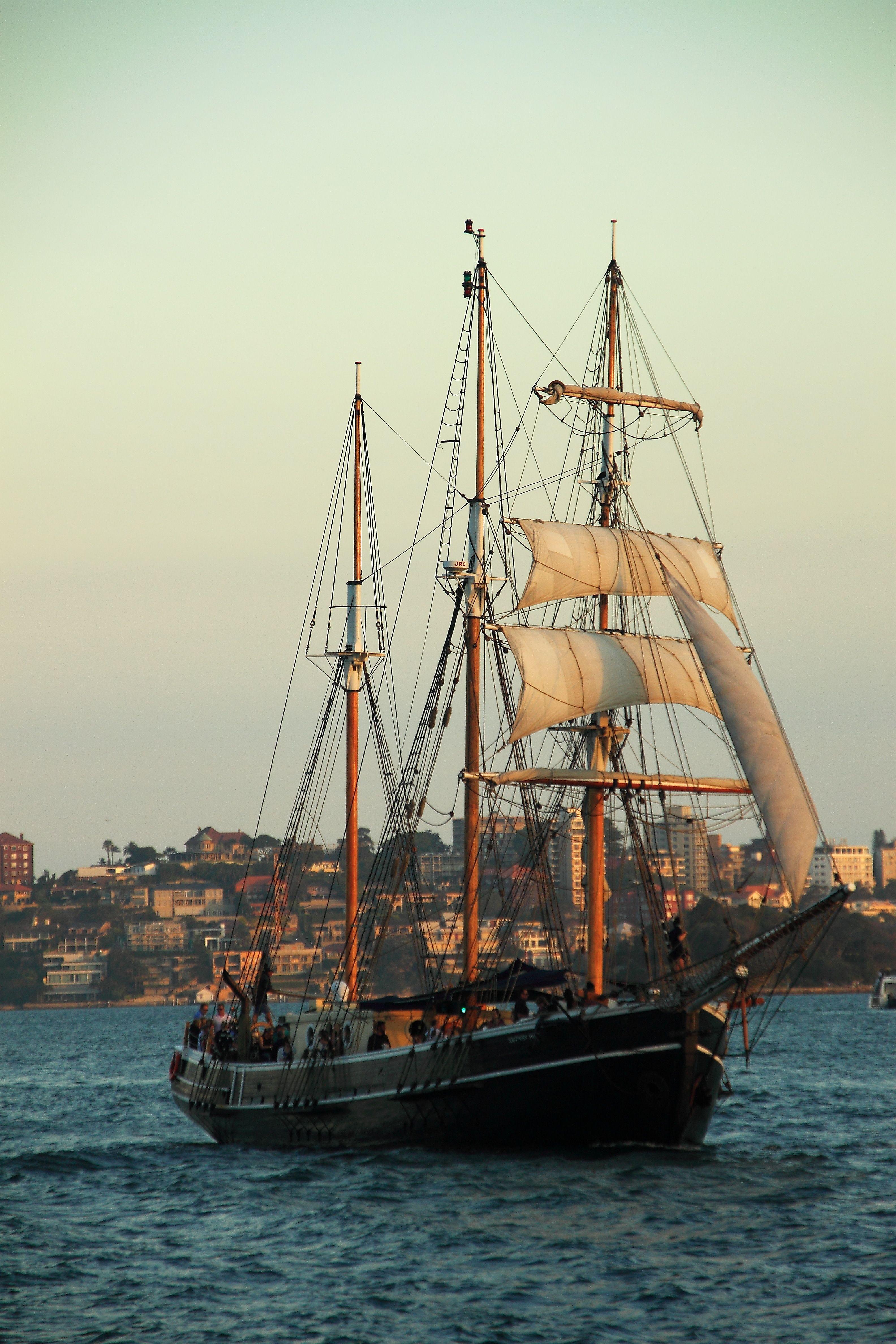 James Craig Square-rig Sailing