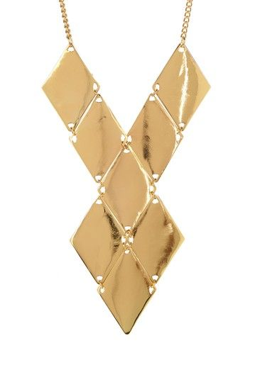 Italy Paneled Necklace by Meghan Fabulous on @HauteLook