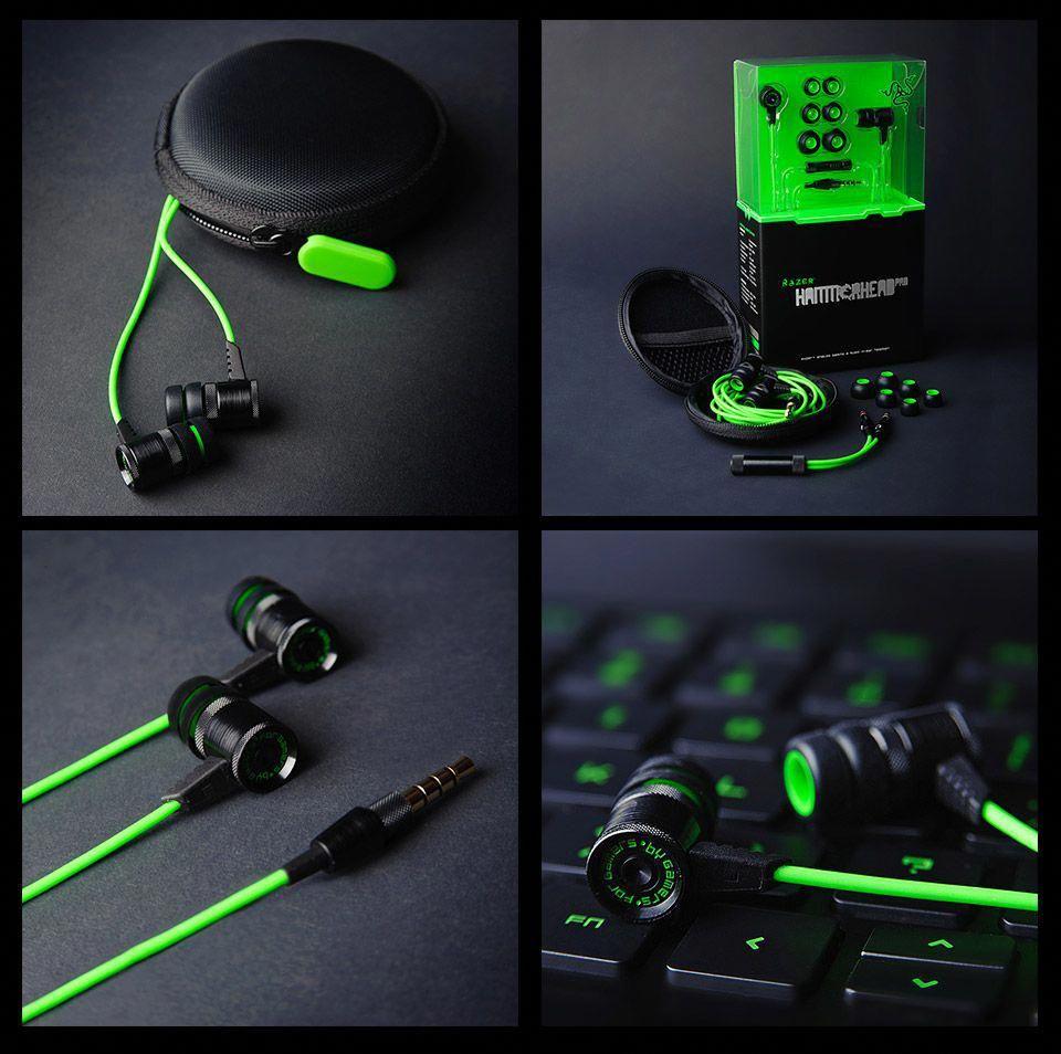 Razer Hammerhead Pro In Ear Sound Isolating Headset Bestpcgamingheadset Earbuds Best Earbuds Wireless Gaming Headset