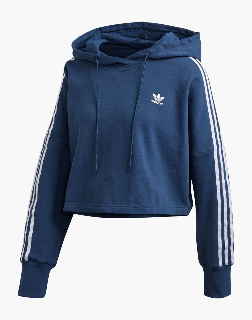 Predownload: Adidas Originals Cropped Hoodie Sweatshirt In 2020 Women Hoodies Sweatshirts Crop Sweatshirt Hoodie Adidas Cropped Hoodie [ 1280 x 1007 Pixel ]