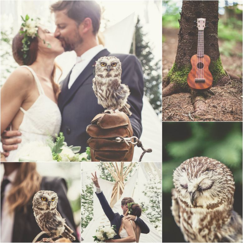 Owl Ring Bearer Pets The best bridesmaids groomsmen and ring