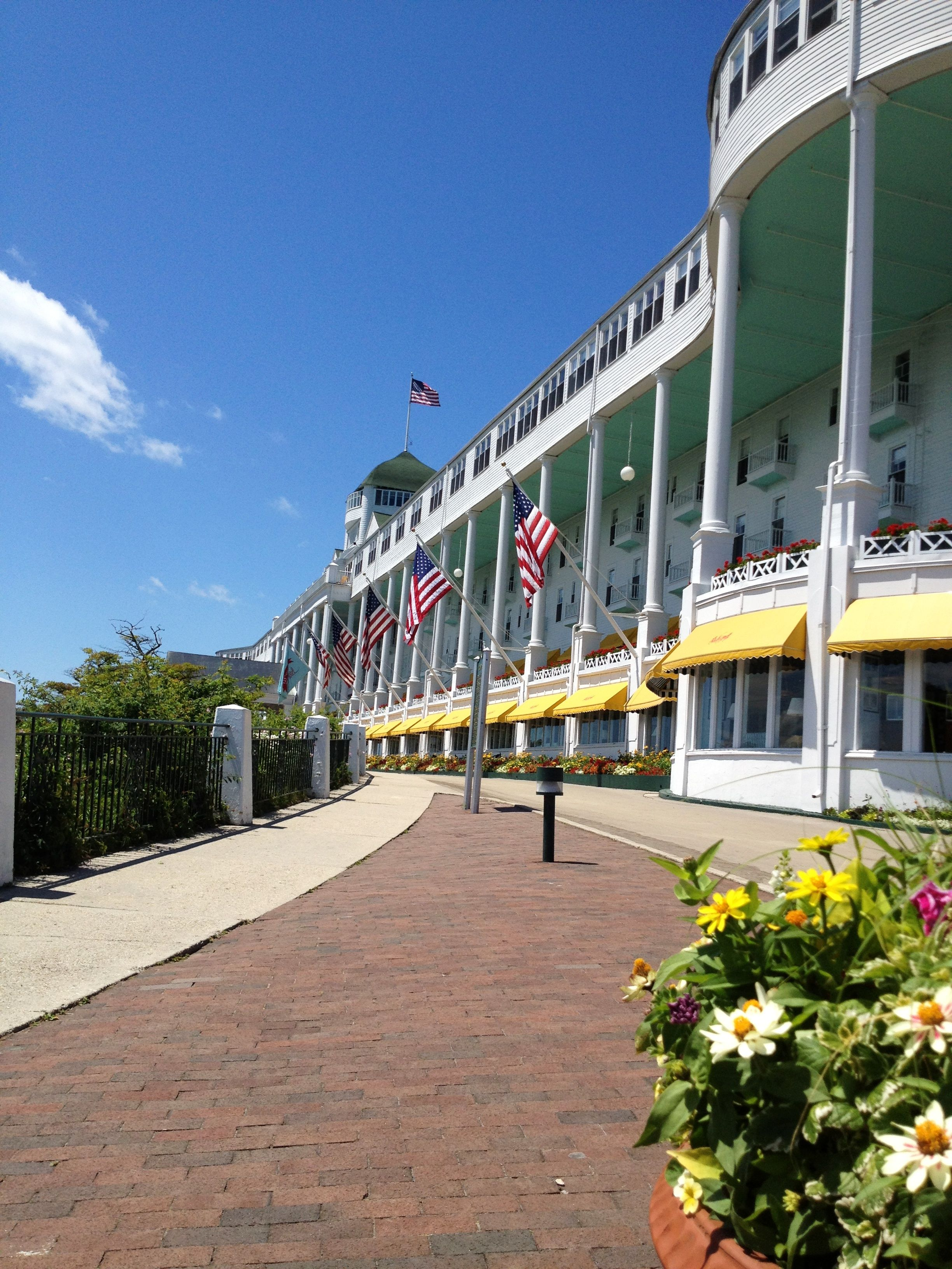 The Grand Hotel Mackinac Island Mackinac Island Michigan Mackinac Island Michigan Travel