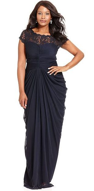 20 plus size evening gowns for your next black tie event abendkleid abendmode und abendkleider. Black Bedroom Furniture Sets. Home Design Ideas