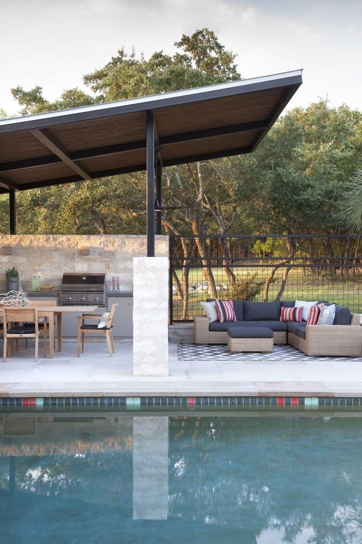 Hill Country Retreat Outdoor Kitchen Design Outdoor Kitchen Patio