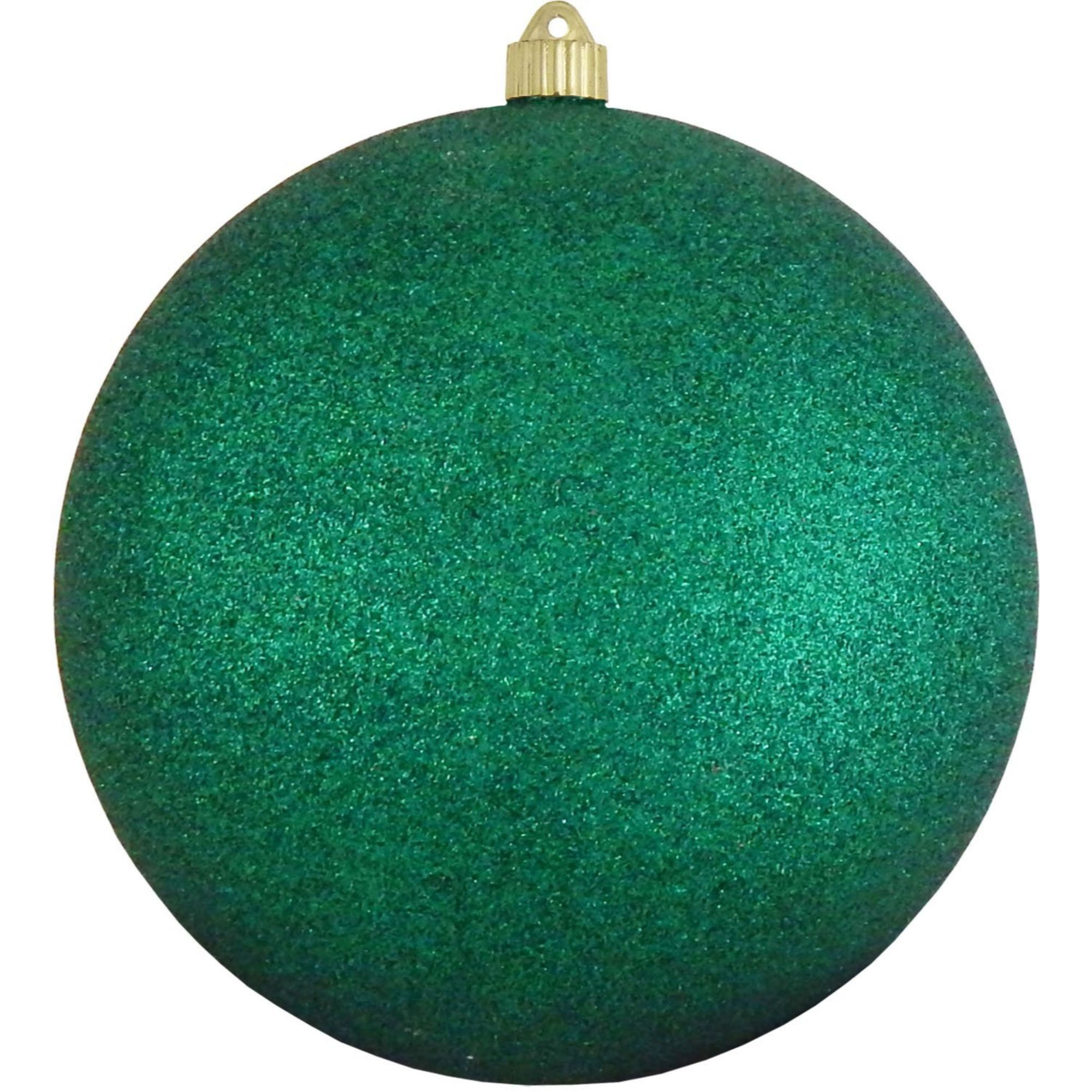 Glitter Emerald Green Shatterproof Christmas Ball Ornament 10 250mm Black Gold Christmas Colorful Christmas Decorations Ball Ornaments