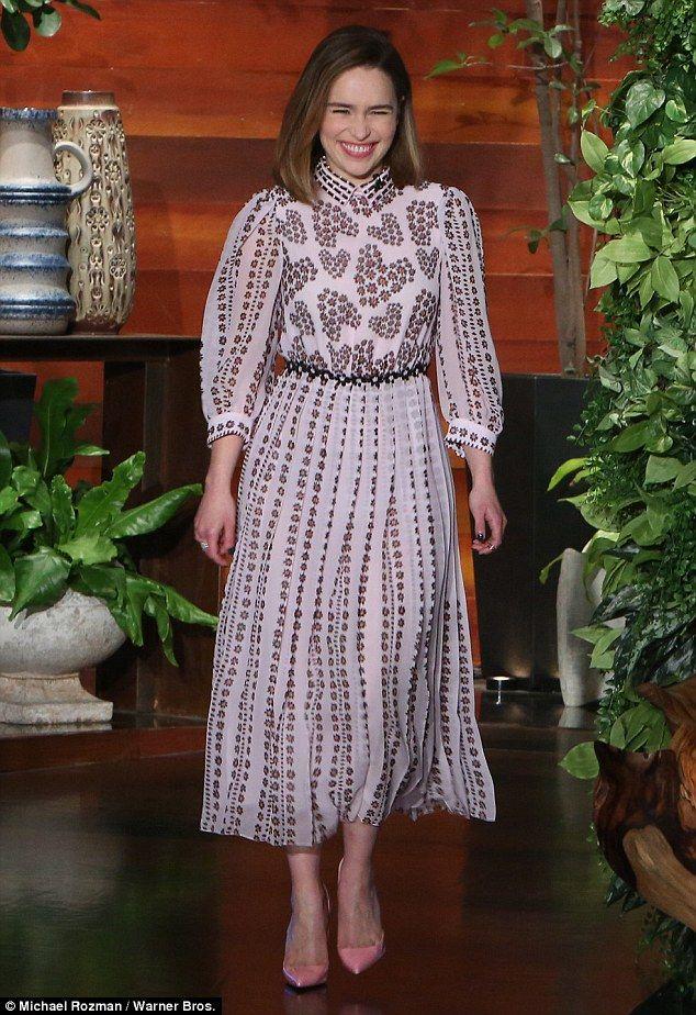 Pin on Style inspiration - Emilia Clarke
