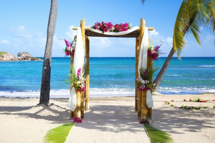 Bolongo Beach Bay Resort Wedding Packages Cheap Caribbean Islands Small Destination Weddings Resort Wedding