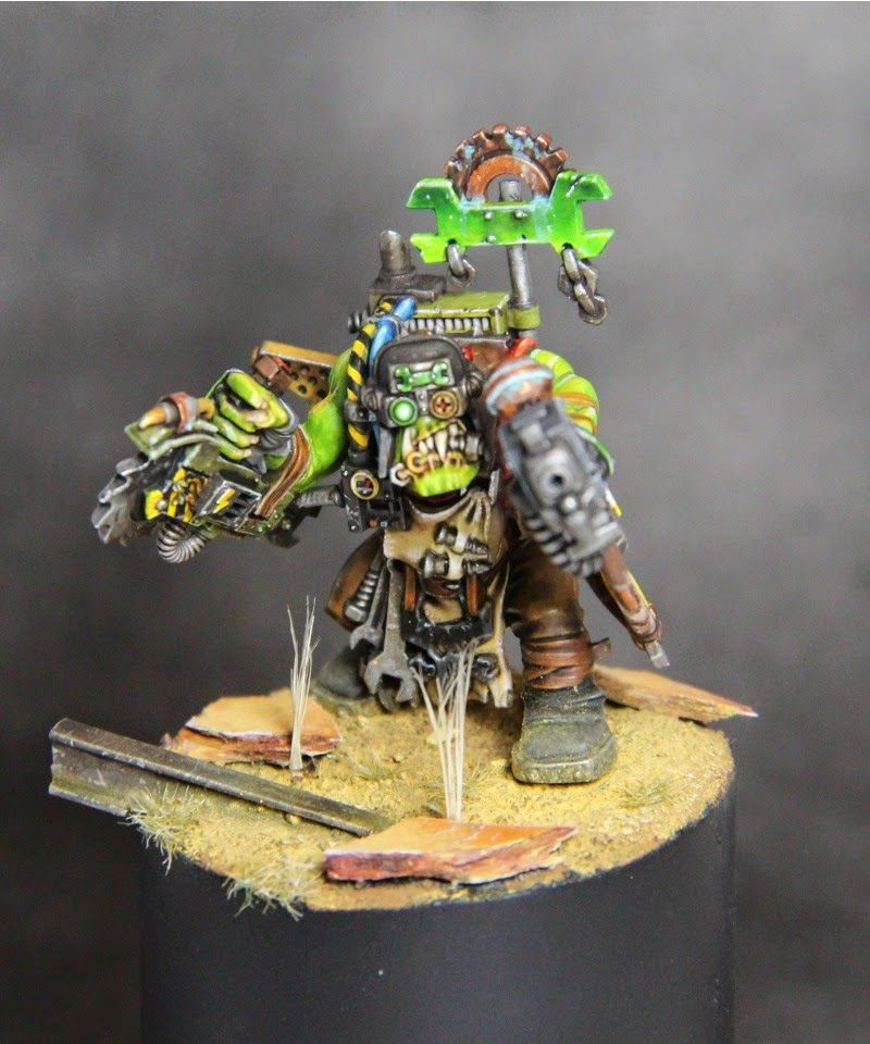 Orks Mek Nob #40k #wh40k #warhammer40k #40000 #wh40000