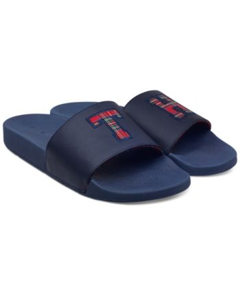 0db408e45ed431 Tommy Hilfiger Men Tartan Slides Men Shoes in 2019