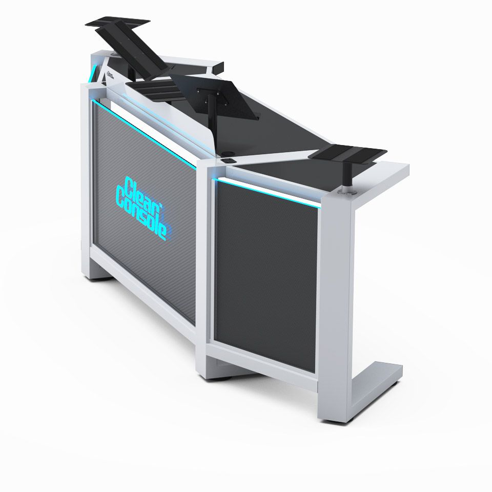 Dj Stand Designs : Portable modular custom dj booths tables stands