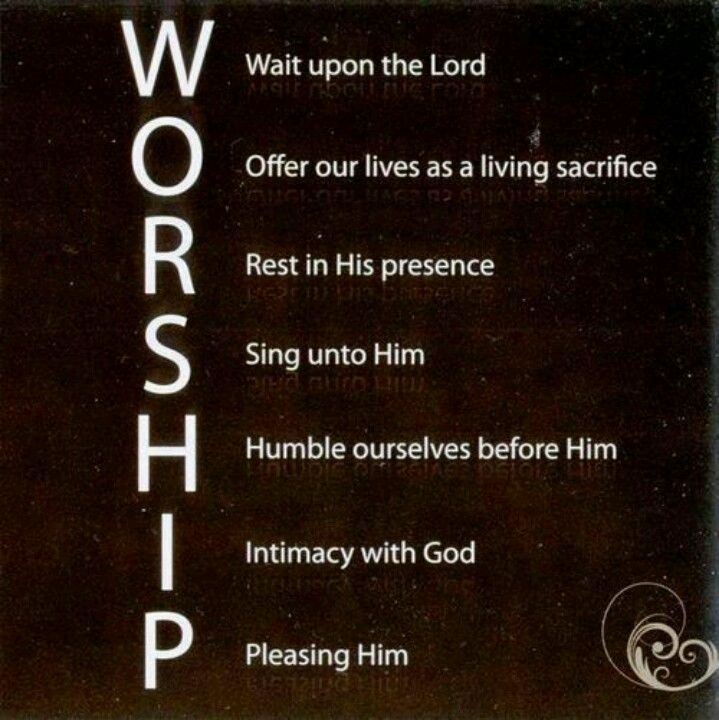Worship Quotes How To Worship  Spirituality  Pinterest  Worship App And Worship God